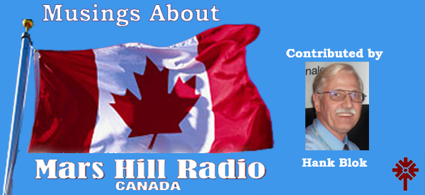 Musings about MHR Canada with Hank Blok